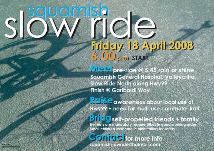 Squamish Slow Ride